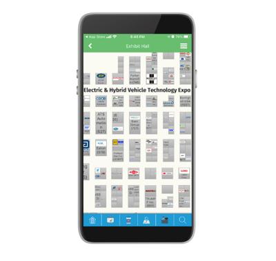 Interactive Floor-Plan-Event-App