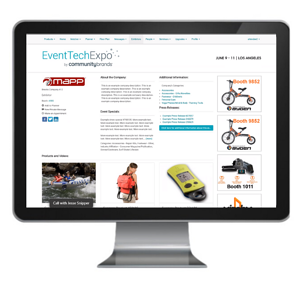 Virtual Exhibit Hall by Event Tech Group