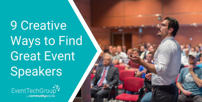 9 Creative Ways to Find Event Speakers